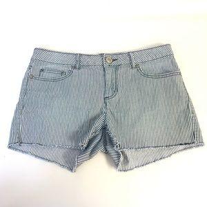 LC Lauren Conrad Pinstripe Shorts
